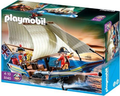 playmobil - Pirates - Rotrock-Kanonensegler (5140) -- via Amazon Partnerprogramm