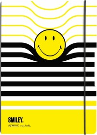 Herlitz my.book flex Notizheft Kunststoff A4, Smiley, kariert/liniert, 2x 40 Blatt (50016020)