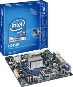 Intel media Series DG45ID, G45 (dual PC2-6400U DDR2)