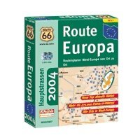 route 66 route Europe 2004 - CD-ROM (multilingual) (PC)