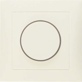 Berker Abdeckplatte für Drehdimmer/Drehpotenziometer, weiß glänzend (11308982)
