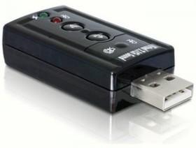DeLOCK USB Sound adapter 7.1 (61645)