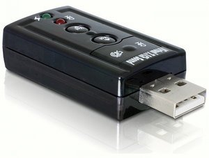 DeLOCK USB Sound adapter 7.1, USB (61645)