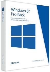 Microsoft Windows 8.1 Pro Pack 64Bit, Update v. Win 8.1, PKC (englisch) (PC) (5VR-00140)