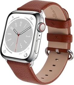 Fullmosa Lederarmband für Apple Watch 42mm/44mm braun