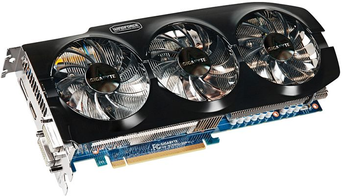 Gigabyte GeForce GTX 760 WindForce 3X OC Rev. 1.0, 2GB GDDR5, 2x DVI, HDMI, DisplayPort (GV-N760OC-2GD)