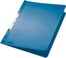 Leitz Schlitzhefter A4, voller Vorderdeckel, blau, 50er-Pack (37460035#50)