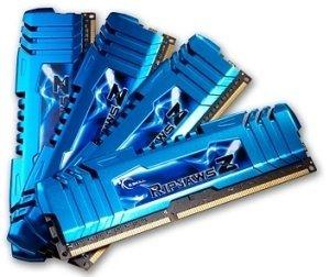 G.Skill RipJawsZ DIMM Kit 16GB, DDR3-2400, CL9-11-11-31 (F3-19200CL9Q-16GBZMD)