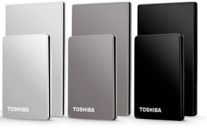 "Toshiba Stor.E Steel silver 160GB, 1.8"", USB 2.0 (PA4145E-1HA6)"
