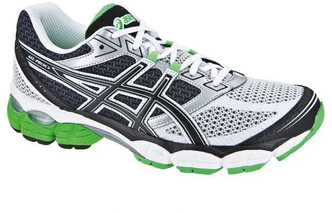 Asics gel Pulse 5 blackwhitegreen (men) (T3D1N 9001) from £ 128.11