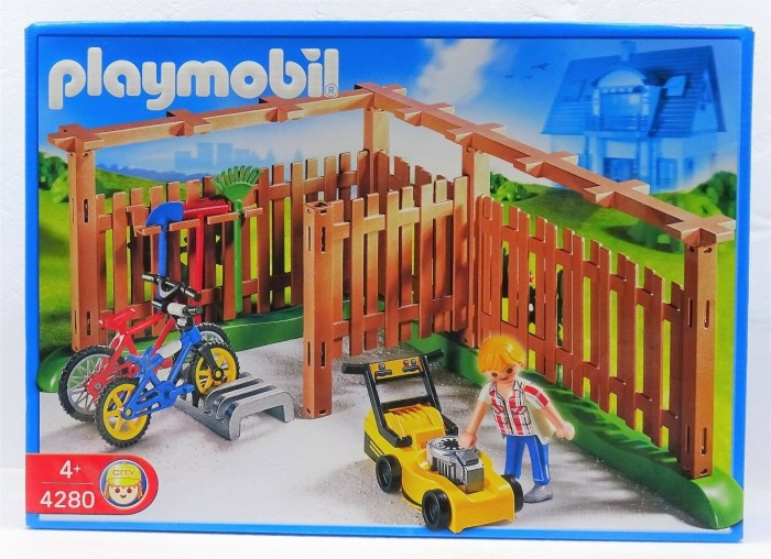 playmobil - City Life - PKW- und Gerätestellplatz (4280) -- via Amazon Partnerprogramm