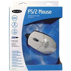 Belkin Mouse white, PS/2 (F8E812EAPS2)
