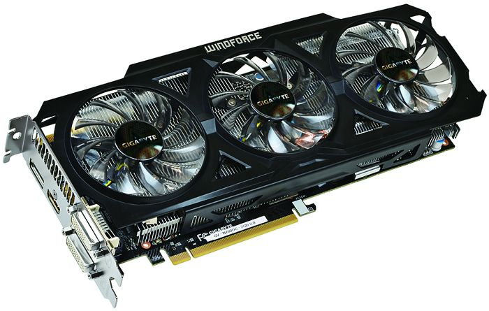 Gigabyte GeForce GTX 760 Windforce 3X OC (Rev. 2.0), 2GB GDDR5, 2x DVI, HDMI, DisplayPort (GV-N760OC-2GD)
