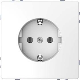 Merten System Design SCHUKO-Steckdose, lotosweiß (MEG2400-6035)