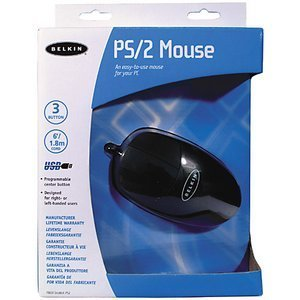 Belkin Mouse czarny, PS/2 (F8E813EABLK-PS2)