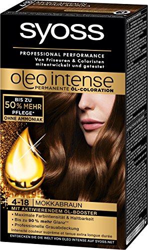 Syoss Oleo Intense Haarfarbe 4 18 Mokkabraun Ab 12 07 2019