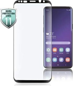 Hama 3D-Full-Screen-protective glass for Samsung Galaxy S10 black (186235)