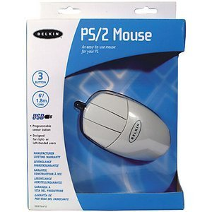 Belkin Mouse white, PS/2 (F8E813EAPS2)