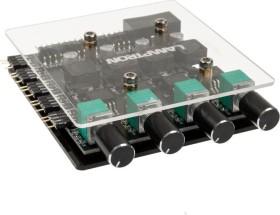 Lamptron CP436 ARGB schwarz, Licht- und Lüftersteuerung 4-Kanal (LAMP-CP436CB)