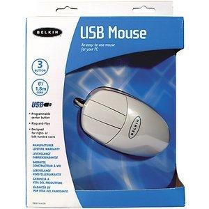 Belkin Mouse weiß, USB (F8E813EAUSB)