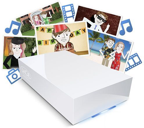 LaCie CloudBox 1000GB, Gb LAN (9000323EK)