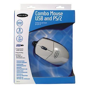 Belkin Combo Mouse white, PS/2 & USB(F8E812EA)