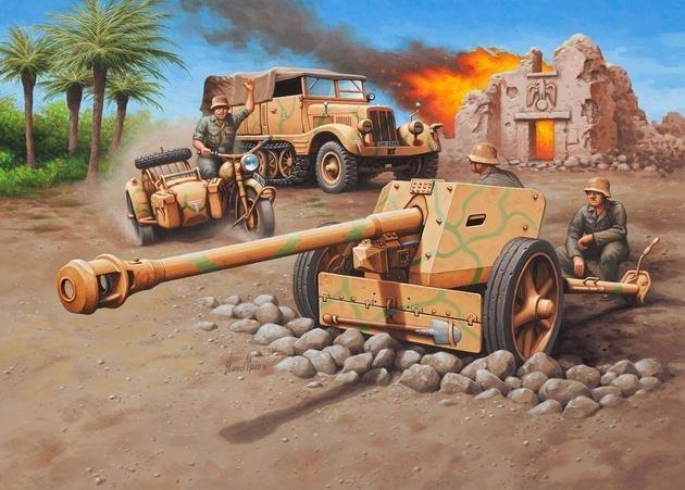 Revell Sd.Kfz.11 + 7.5cm Pak 40 (03252)