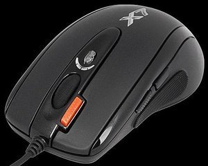 A4Tech XL-750BK Oscar laser Gaming Mouse, USB