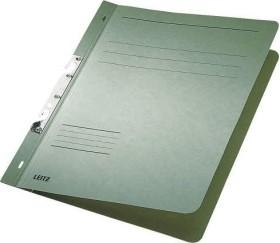 Leitz Schlitzhefter A4, voller Vorderdeckel, grün, 50er-Pack (37460055#50)