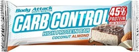 Body Attack Carb Control Proteinriegel Kokosnuss Mandel 100g (4250350530078)
