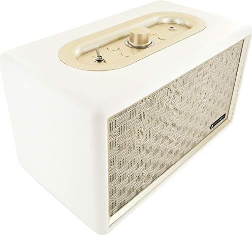 Schwaiger Retro Bluetooth Speaker weiß (661712) -- via Amazon Partnerprogramm