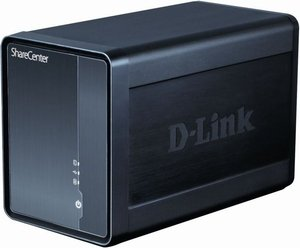 D-Link ShareCenter Shadow DNS-325, Gb LAN