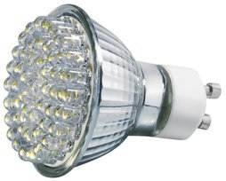 Transmedia LED reflector 2.7W/GU10 WW clear (LL2-48W)