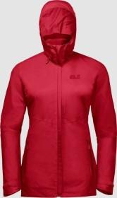 Jack Wolfskin Garnet Pass Jacke red fire (Damen) (1111551-2590)