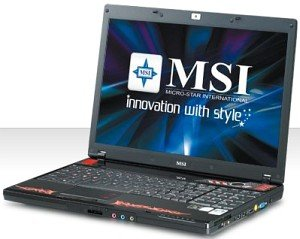 MSI GX600-7225VHP Performance (00163A1-SKU13)