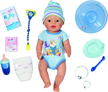 Zapf Creation Baby Born Puppe Interactive Boy Ab 55 45