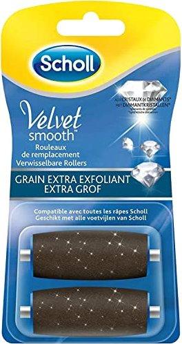 Scholl Express Pedi Velvet Smooth Ersatzrolle extra stark, 2 Stück