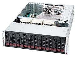 Supermicro SuperChassis 936A-R900B black, 3U, 900W redundant