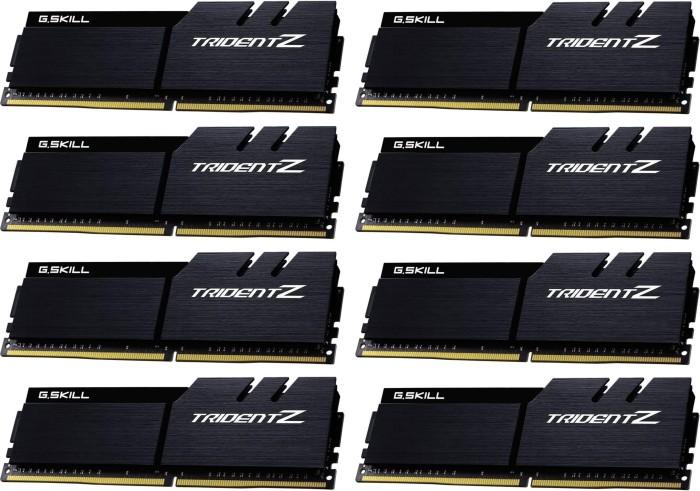 G.Skill Trident Z schwarz/schwarz DIMM Kit 64GB, DDR4-4000, CL18-19-19-39 (F4-4000C18Q2-64GTZKK)