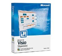 Microsoft: Visio 2003 Standard, Schulversion (PC) (D86-01769)