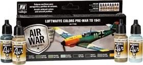 "Vallejo Model Air Air War Color Series ""Luftwaffe Pre-War to 1941"" Farbset, 8-tlg. (71.165)"