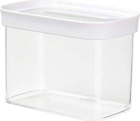Emsa Optima rechteckig 1l Aufbewahrungsbehälter weiß (513557)