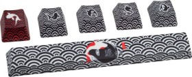 Traitors Sakasama Dark, PBT Keycap set, 5-sided printed, 6 keys (TRDSK6800-2)