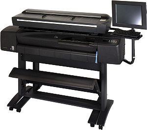 HP DesignJet 815MFP, ink (Q1279A)