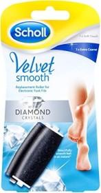 Scholl Velvet Smooth Express Pedi Ersatzrolle Mix fein/extra stark, 2 Stück