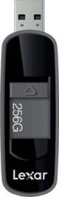 Lexar JumpDrive S75 schwarz 256GB, USB-A 3.0 (LJDS75-256ABBK)