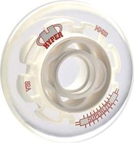 Hyper Wheels Superlite Inline-Skate Rollen, 4 Stück (verschiedene Größen)