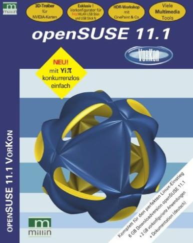 Novell: openSuSE Linux 11.1 (German) (PC) -- via Amazon Partnerprogramm