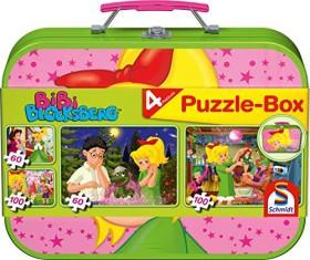 Schmidt Spiele Puzzle-Box - im Metallkoffer Bibi Blocksberg (55595)