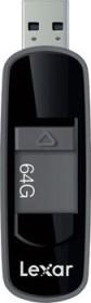 Lexar JumpDrive S75 schwarz 64GB, USB-A 3.0 (LJDS75-64GABBK)
